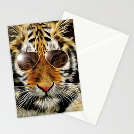 In the Eye of the Tiger Stationery Cards