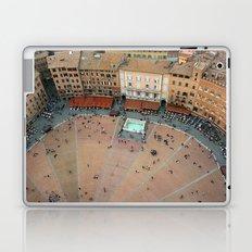 Looking Down At Siena Laptop & iPad Skin
