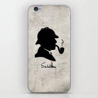 conan iPhone & iPod Skins featuring World's Greatest Detective by Irina Chuckowree