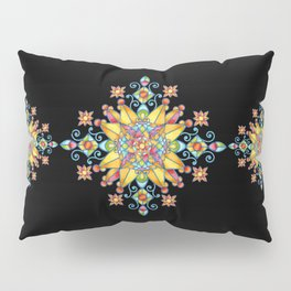 Alhambra Stained Glass Pillow Sham