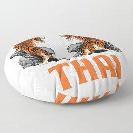 Muay Thai Tigers Floor Pillow