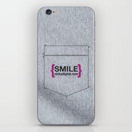 Faux Pocket Tee iPhone Skin