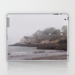 Gray Beach on a gray day Laptop & iPad Skin