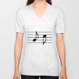 Music Unisex V-Neck
