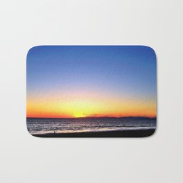 "Redondo Beach ""GoodNight Sun"" Bath Mat"