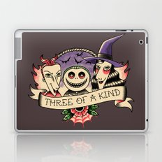 Three of a kind Laptop & iPad Skin