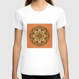 Colorful Floral Design T-shirt