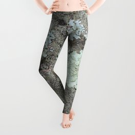 Lichen on granite Leggings