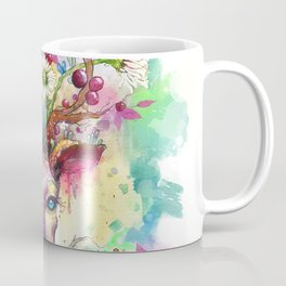 Spring Stag Coffee Mug