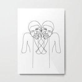 KARL Metal Print