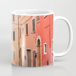 Colorful streets of Italy | Fine art travel photography print Europe Coffee Mug