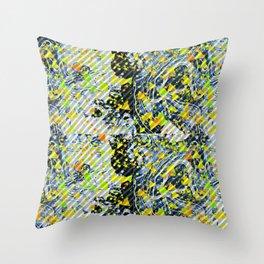 Splatter Slant Throw Pillow