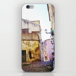 ANOTHER STREET IN LISBON iPhone Skin