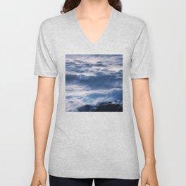 Where The Ocean Meets the Sky Unisex V-Neck