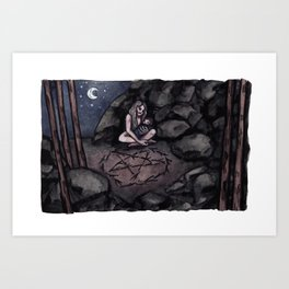 A new witch Art Print