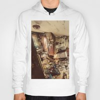 kitchen Hoodies featuring Chaotic Kitchen by Shaun Lowe