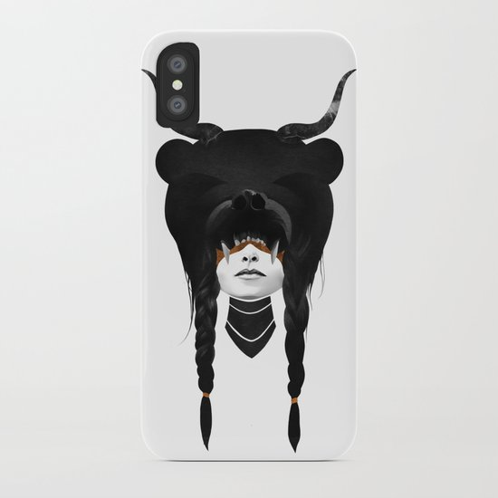 Bear Warrior iPhone Case