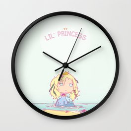 Lil' Sea Princess Wall Clock