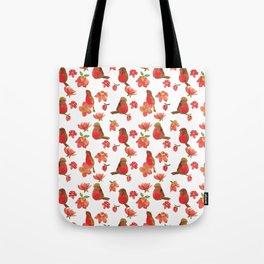 Hello Robin - White Version Tote Bag
