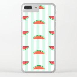 WaterMelon Clear iPhone Case