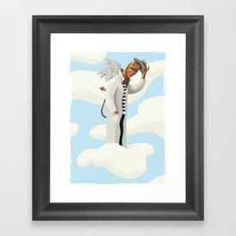EvilAngel Framed Art Print
