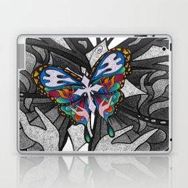 Christianity Themed Butterfly Art Laptop & iPad Skin