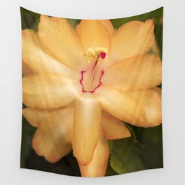 Christmas Cactus Flower Wall Tapestry