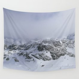Mountains in June Wall Tapestry