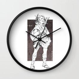 Vulpecula - The Fox Wall Clock