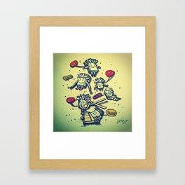 Life, Touch, Love, Cut, Sleep... Framed Art Print