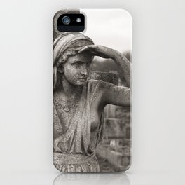THE WATCHER | Kensal Green Cemetery 01  iPhone Case