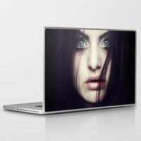fear Laptop & iPad Skins featuring Fear by Funkygirl4ever95
