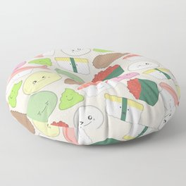 Sushi and Mochi! Floor Pillow