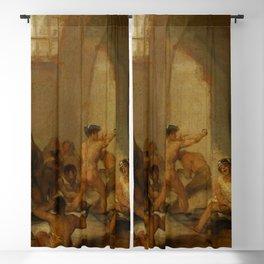 "Francisco Goya ""Casa de locos (The Madhouse)"" Blackout Curtain"