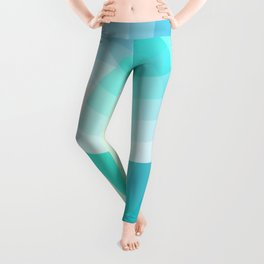 Three colour circles inverted, inspired by Lacouture's Répertoire chromatique Leggings