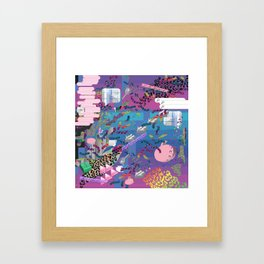 nu reef Framed Art Print