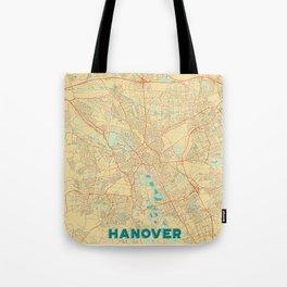 Hanover Map Retro Tote Bag