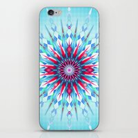 diamond iPhone & iPod Skins featuring Diamond by Helen Kaur
