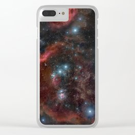 Orion Molecular Cloud Clear iPhone Case