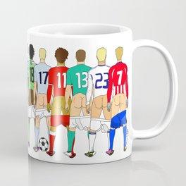 Soccer Butts Coffee Mug
