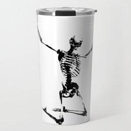 SKELETON GIVE UP Travel Mug