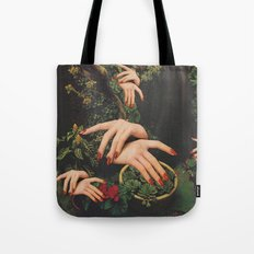 Touch Plants Tote Bag