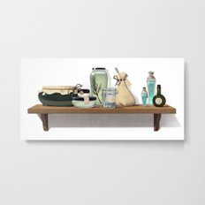 Potions and Poultices Metal Print