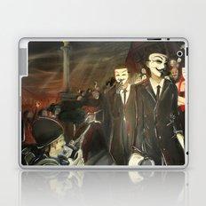 except us - Anonymous Laptop & iPad Skin