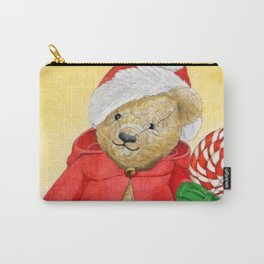 christmas_red_little_bear Carry-All Pouch
