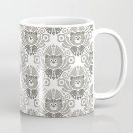 Cat Damask Coffee Mug