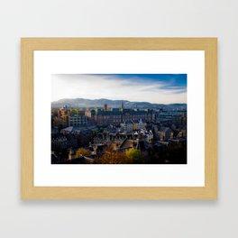 Edinburgh Sunrise Framed Art Print