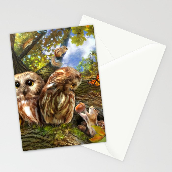 Out On a Limb Stationery Cards