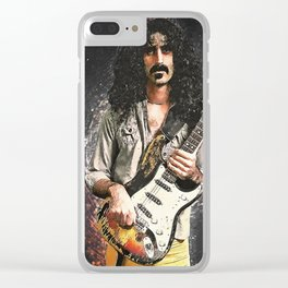 Frank Zappa Clear iPhone Case