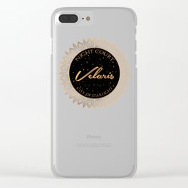 Night Court, Velaris, City of Starlight - ACOTAR Clear iPhone Case